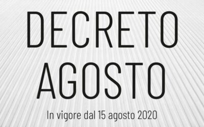 FAQ Decreto Agosto 2020 – La Cassa Integrazione